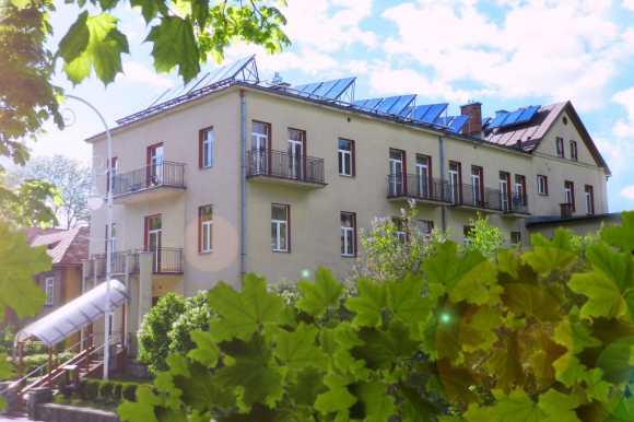 Krynica Zdrój budynek ośrodka Soplicowo