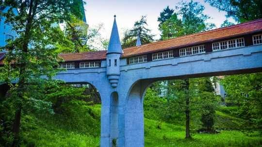 Ladek Zdrój kryty most