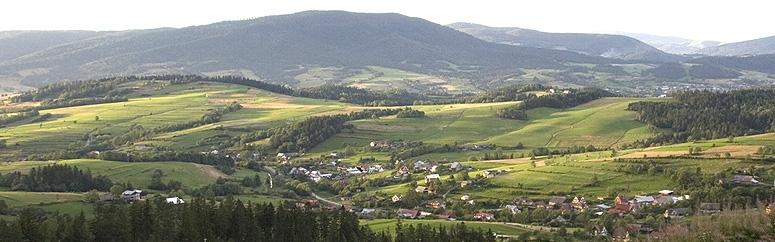 Rabka Zdrój panorama miejscowości